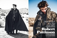 Ultimate Graveyard Mojave Desert - Robert Pattinson Fashion Photoshoot for Luomo Vogue Italia Magazine - Mojave Desert Landscape