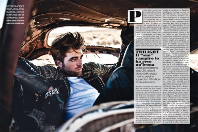 Ultimate Graveyard Mojave Desert - Robert Pattinson Fashion Photoshoot for Luomo Vogue Italia Magazine - Post-Apocalyptic Cars