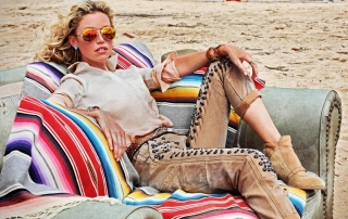 Ultimate Graveyard Mojave Desert - NY Post Fashion Photoshoot - Decaying Furniture