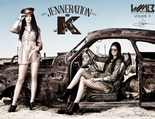 Kendall & Kylie Jenner for WMB: World's Most Beautiful
