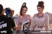 Ultimate Graveyard Mojave Desert Shoot Location - BTS with Kendall Jenner & Kylie Jenner Fashion Photoshoot by Nick Saglimbeni for WMB 3D Magazine on railroad train tracks sunset video