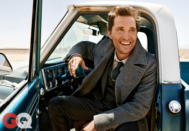 Ultimate Graveyad Mojave Desert Photography & Film Location - Matthew McConaughey Fashion Photoshoot for GQ Magazine Cover - Old Truck