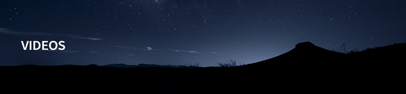 Ultimate Graveyard Mojave Desert Stars at night - Videos