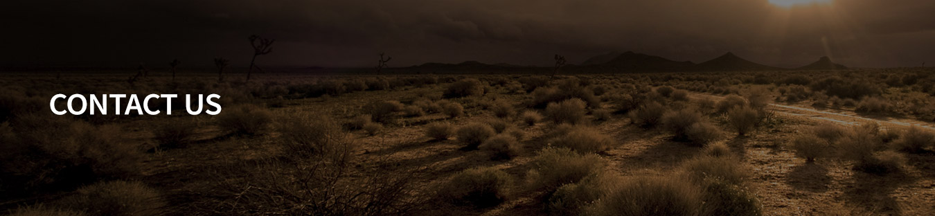 Ultimate Graveyard Mojave Desert Open Desert Land - Contact Us