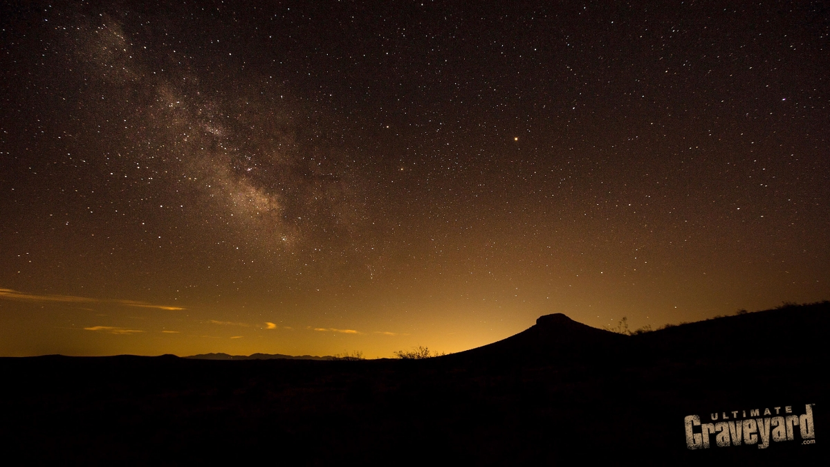 Astral Photography at the Ultimate Graveyard Mojave Desert Film Location