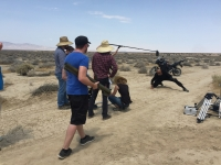 UltimateGraveyard Mojave Desert Film Location - LootCrate & RocketJump Speed Video - Filming