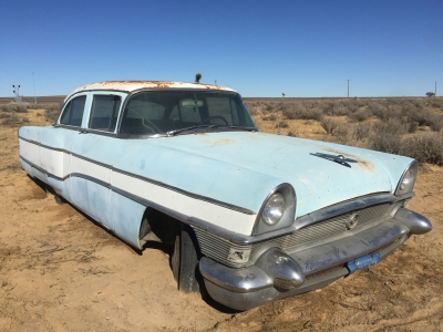 UltimateGraveyard Mojave Desert Photography & Film Location - 50's Packard Clipper Car