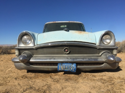 UltimateGraveyard Mojave Desert Photography & Film Location - 50's Packard Clipper Car Grill