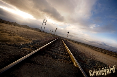 UltimateGraveyard Mojave Desert Filming & Photography Location - Desert Train Tracks