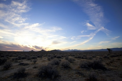 UltimateGraveyard Mojave Desert Filming & Photography Location - Desert Landscape & Sunset Mountain Views