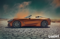 UltimateGraveyard: BMW Z4 Concept Car Profile - Cracked Earth - Photo by Agnieszka Doroszewicz