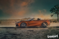 UltimateGraveyard: BMW Z4 Concept Car Driving - Joshua Trees - Photo by Agnieszka Doroszewicz