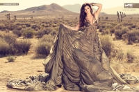 Ultimate Graveyard Mojave Desert Shoot Location - Kylie Jenner Fashion Photoshoot by Nick Saglimbeni for WMB 3D Magazine - Mojave Desert Landscape