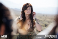 Ultimate Graveyard Mojave Desert Shoot Location - BTS with Kendall Jenner & Kylie Jenner Fashion Photoshoot by Nick Saglimbeni for WMB 3D Magazine - Mojave Desert Landscape