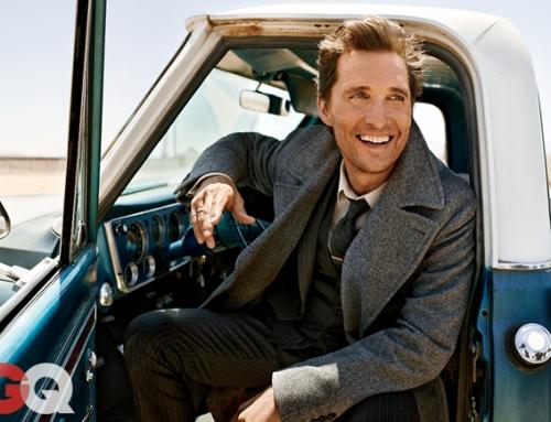 GQ: Matthew McConaughey Cover