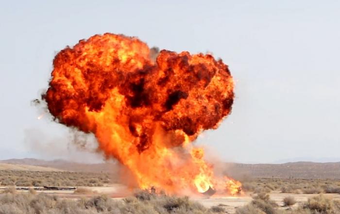 UltimateGraveyard Mojave Desert Film Location - LootCrate & RocketJump Car Explosion