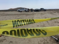 UltimateGraveyard Mojave Desert Film Location - LootCrate & RocketJump Speed Video - Caution Tape