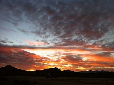 UltimateGraveyard Mojave Desert Filming & Photography Location - Joshua Trees & Sunset Mountain Views