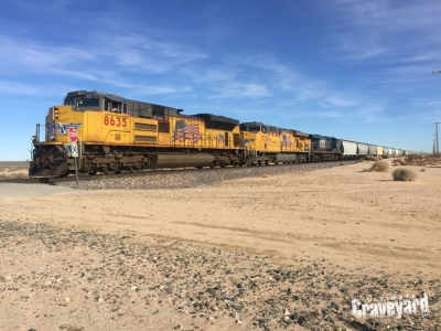 UltimateGraveyard Railroad Tracks Trains in Mojave Desert for Filming & Photography Location