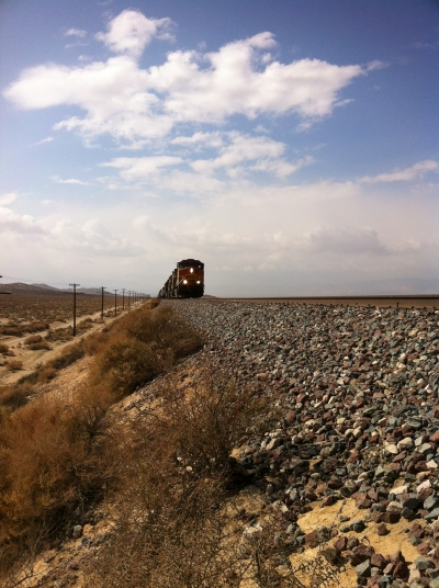 UltimateGraveyard Mojave Desert Photography & Film Location - Railroad Train and Train Tracks