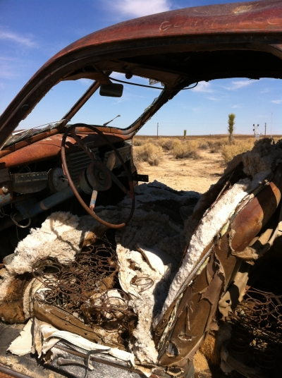 UltimateGraveyard Mojave Desert Photography & Film Location - Post-Apocalytic Car