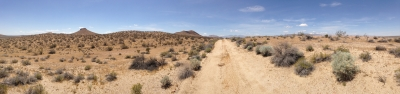 UltimateGraveyard Mojave Desert Filming & Photography Location - Long Dirt Road into the Mojave Desert Mountains