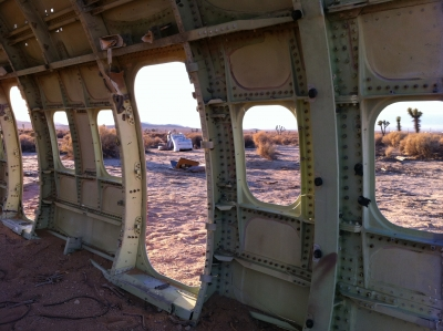 UltimateGraveyard Mojave Desert Filming & Photography Location - Plane Shell