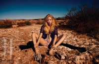 Ultimate Graveyard Mojave Desert Shoot Location - Fashion Photoshoot for W Korea Magazine March 2013 - Desert Landscape