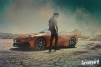UltimateGraveyard: BMW Z4 Concept Car - Model Smoke - Photo by Agnieszka Doroszewicz