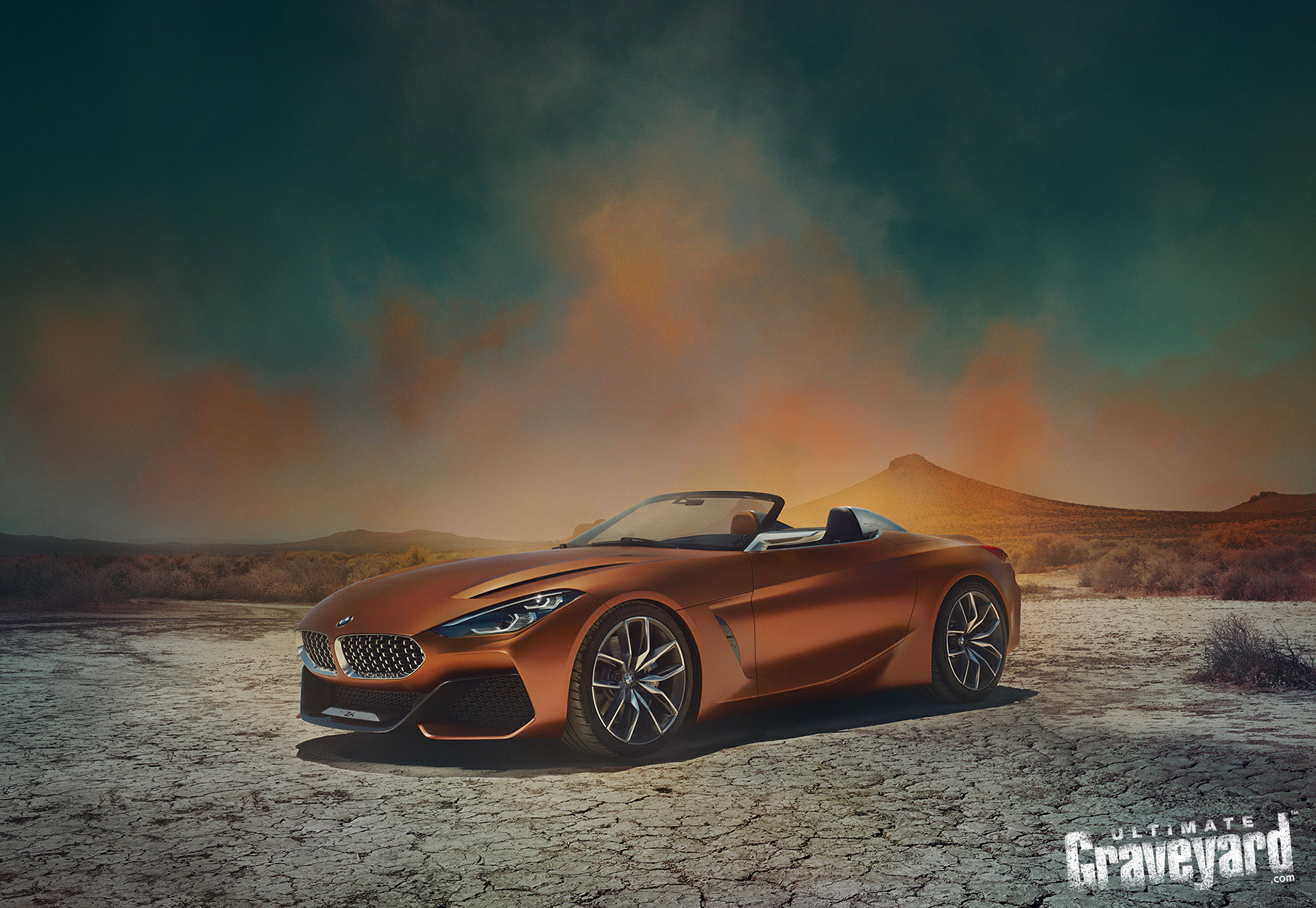 Bmw Top Secret Z4 Concept Car Shoot Ultimate Graveyard