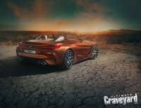 UltimateGraveyard: BMW Z4 Concept Car Back Angle - Cracked Earth - Photo by Agnieszka Doroszewicz