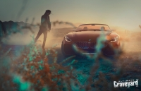 UltimateGraveyard: BMW Z4 Concept Car - Desert Brush - Photo by Agnieszka Doroszewicz